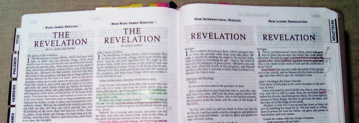 Order of Events in The Book of Revelation – Chapter by Chapter